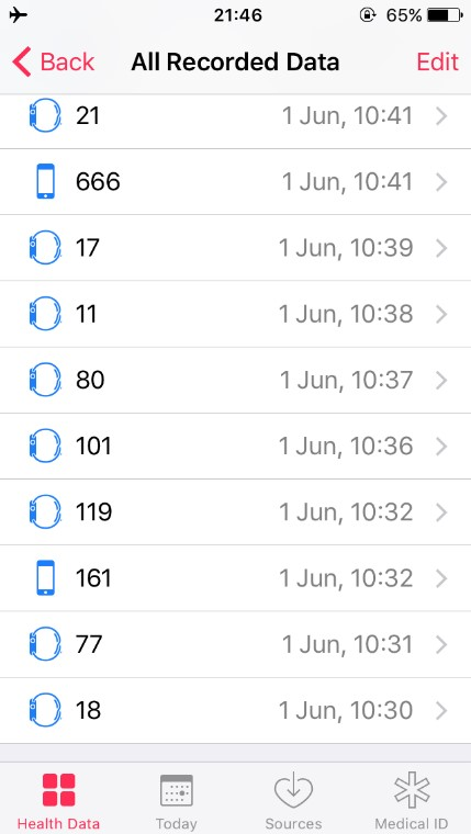 Steps data from iPhone and Apple watch.jpg