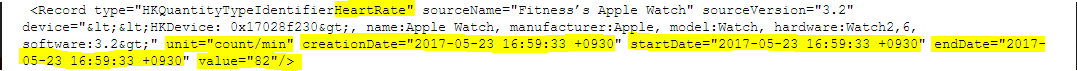 .xml file showing heart rate data.png