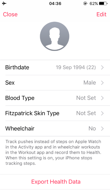 Health app user details.png