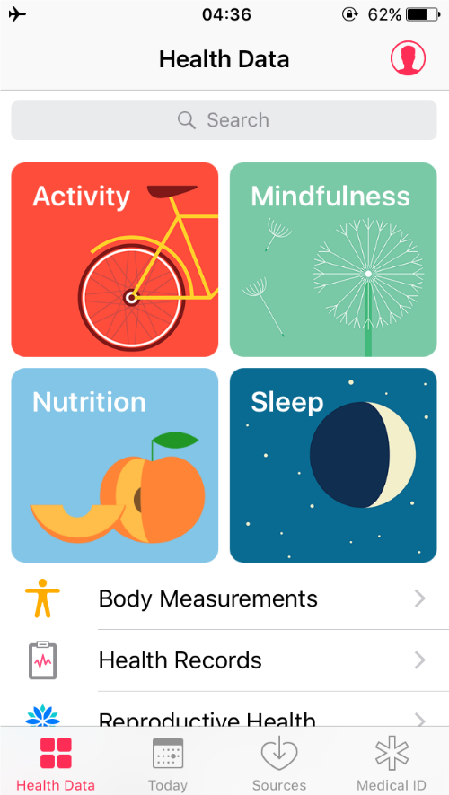 Health app interface.png